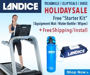 Landice Black Friday Treadmill, Bike, Elliptical Sale
