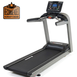 Voted top treadmill by Runner's World