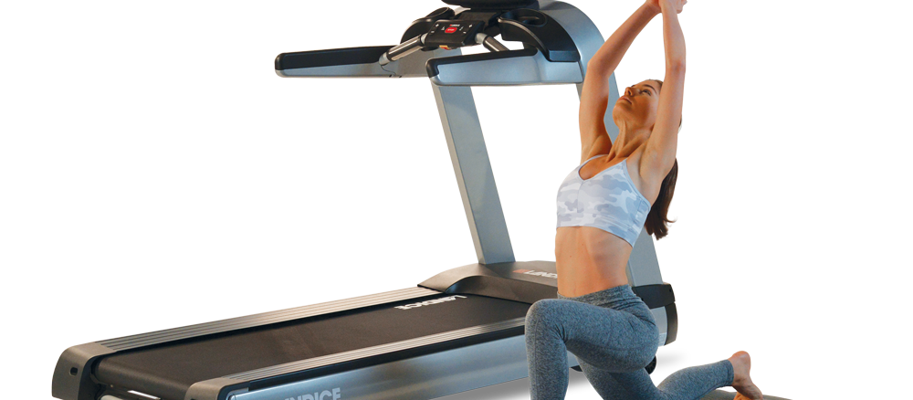 Landice treadmill care and mat